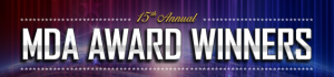 15th Annual MDA Award Winners banner